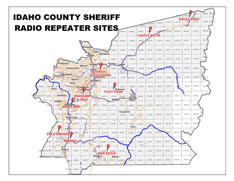 Radio Repeater Sites_2017 – Official Idaho County Site
